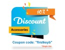 Discount on First Order - Accessories