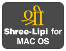 Shree-Lipi for Apple Mac